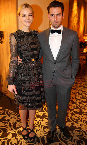 Carey Mulligan shows off her party style at Winter Weekend party