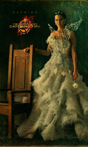 Jennifer Lawrence's new Hunger Games poster unveiled
