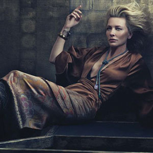 SEE: Cate Blanchett's smouldering new cover shoot