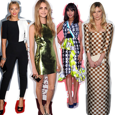 Celebrity trendspotting: see how the stars style the SS13 fashion trends