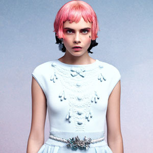 Cara Delevingne's hot Chanel campaign shots