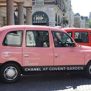 Taxi! Chanel gives Londoners a beauty treat