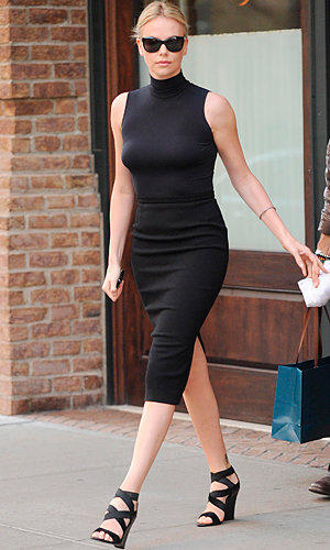 Charlize Theron and January Jones style up The Today Show!