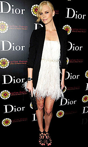 SEE PICS: Charlize Theron launches Dior VIII watches