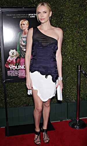 Charlize Theron wows in Stella McCartney at Young Adult premiere