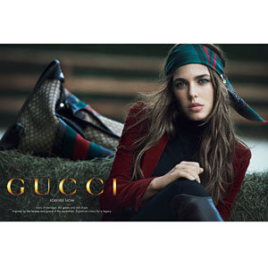 Charlotte Casiraghi is the new face of Gucci!