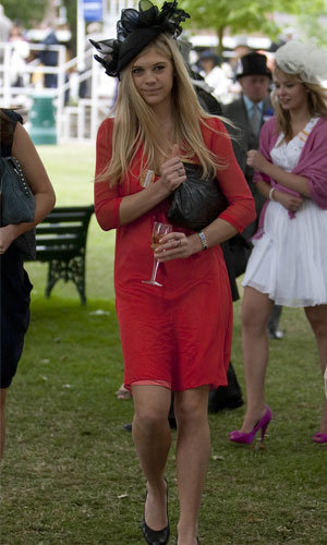 PICS: Chelsy Davy joins Princess Beatrice and Eugenie at Royal Ascot
