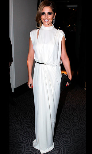 Cheryl Cole wows in white at The Prince's Trust dinner and tweets about THOSE X Factor return rumours!