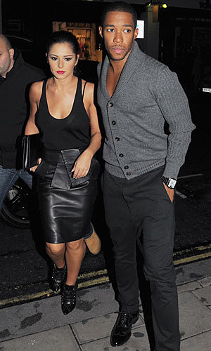 Cheryl Cole and Tre Holloway's stylish date night