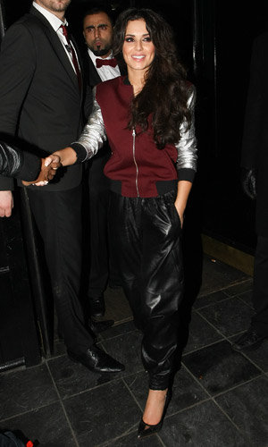 Cheryl Cole turns DJ in London