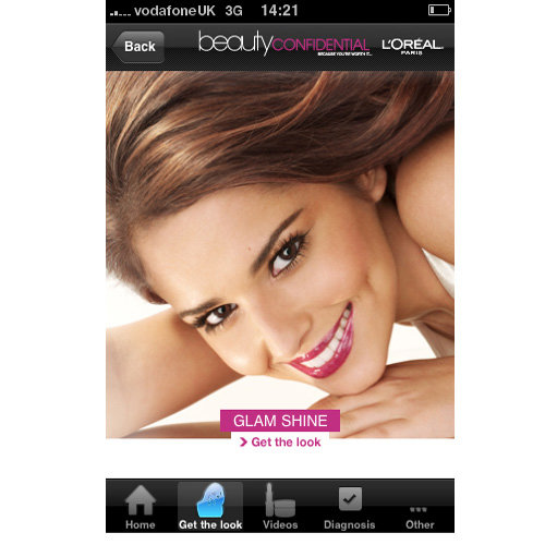 L'Oreal launches new beauty iPhone App!