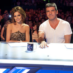 Simon Cowell is the first to re-dub Cheryl 'Tweedy'