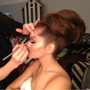 SEE PICS: Cheryl Cole's hair makeover on her calendar shoot!