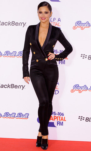 Cheryl Cole and Girls Aloud light up the Jingle Bell Ball