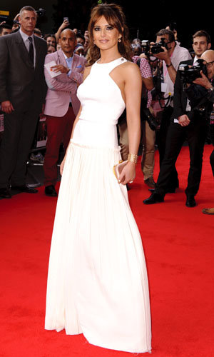 Cheryl Cole and Cameron Diaz WOW in white for the What To Expect When You're Expecting London premiere!