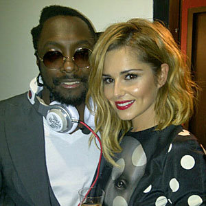 Cheryl Cole, will.i.am and Lady Gaga party in London