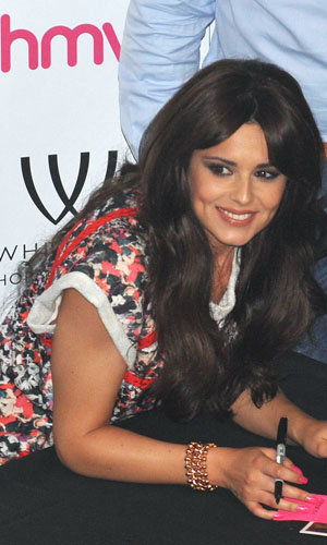 Cheryl Cole wows in Isabel Marant prints at her album signing!