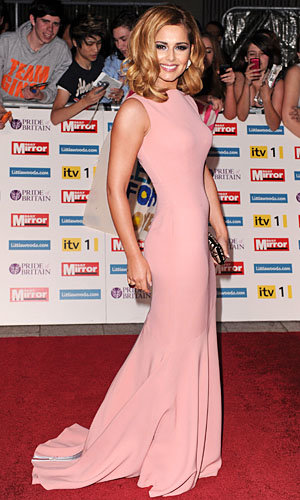 SEE PICS: Cheryl Cole sizzles in Victoria Beckham joining top UK celebs at the glamorous Pride of Britain Awards!