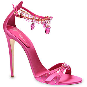 Chopard and Giuseppe Zanotti create the world's most precious shoes