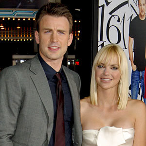 Chris Evans and Anna Faris pair up for What's Your Number LA premiere