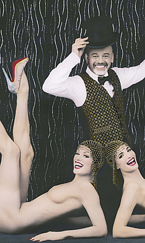Christian Louboutin's Crazy Horse cabaret collaboration