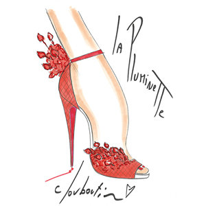 Christian Louboutin unveils sketches of his 20th Anniversary Capsule Collection