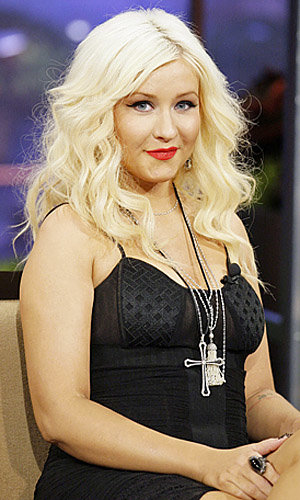 Christina Aguilera talks music and making mistakes with Jay Leno