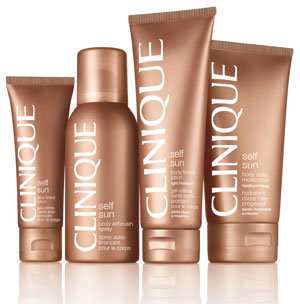 Sunless tanning from Clinque