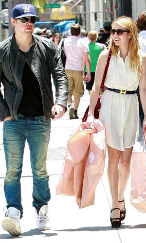 Hot new couple: Emma Roberts and Glee's Chord Overstreet