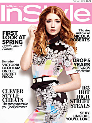 SEE VIDEO: Nicola Roberts' InStyle cover shoot!