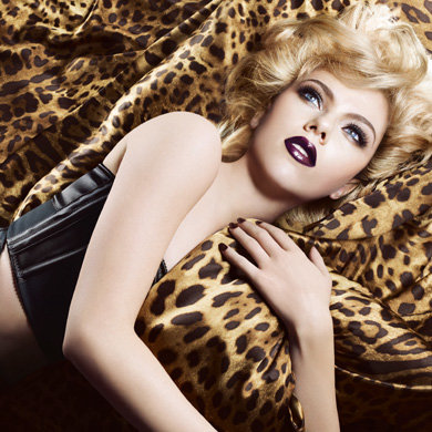 SEE PICS: Sultry Scarlett Johansson as the face of Dolce & Gabbana's fall beauty range