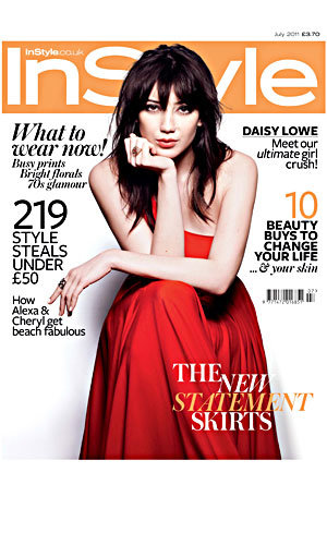 VIDEO EXCLUSIVE! Daisy Lowe strikes a pose for InStyle