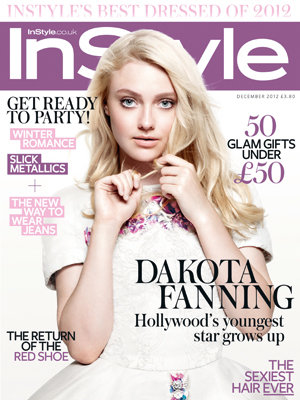 InStyle's December cover star Dakota Fanning reveals all about Twilight