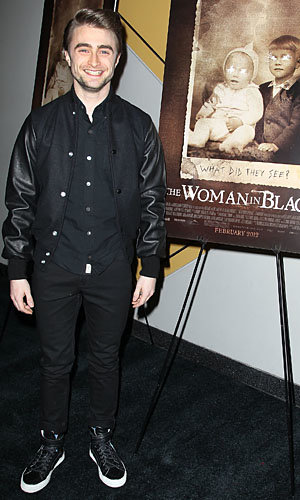 Daniel Radcliffe promotes The Woman In Black in New York