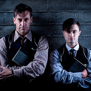 Sneak peek: Jon Hamm and Daniel Radcliffe star in A Young Doctor's Notebook