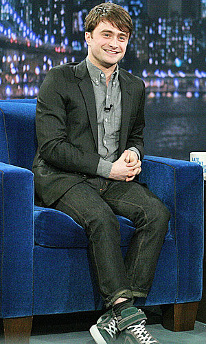 Harry Potter star Daniel Radcliffe hits the US chat shows