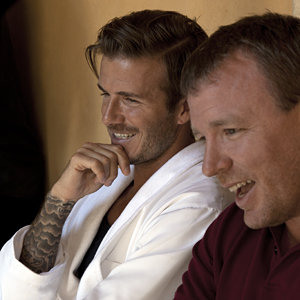David Beckham talks taking direction from Guy Ritchie for H&M