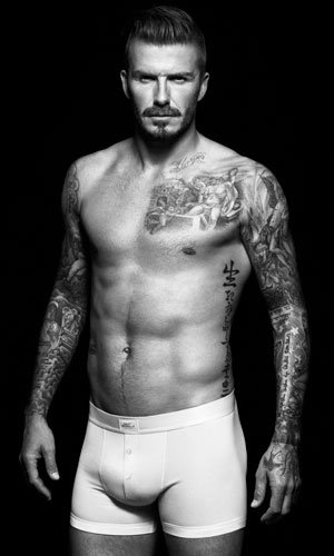 David Beckham is back in new H&M underwear ads
