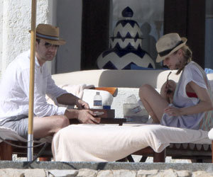 SEE PICS: Diane Kruger and Joshua Jackson holiday in Mexico