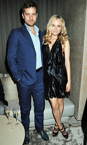 Diane Kruger and Joshua Jackson are loved-up in Istanbul!