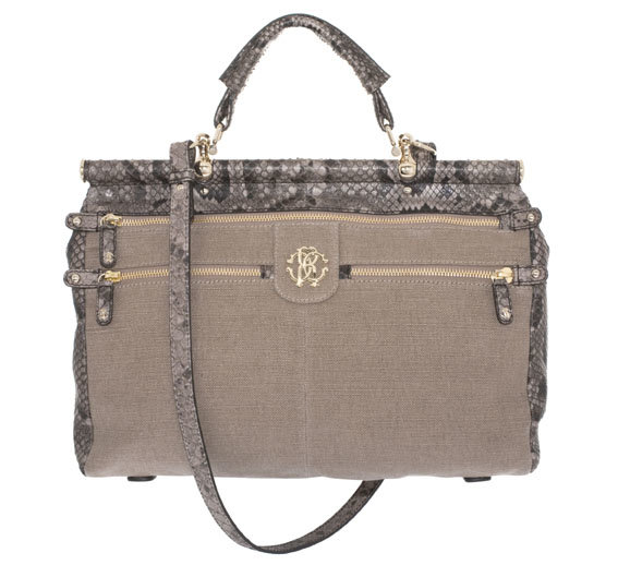 Roberto Cavalli introduces the new must-have bag!