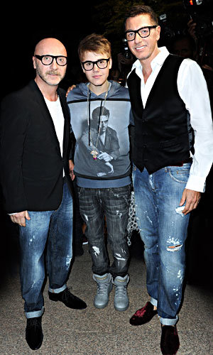 Dolce & Gabbana throw party for Justin Bieber!