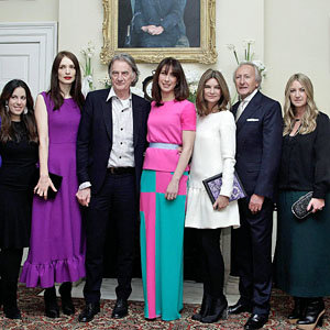 London Fashion Week's finest hit Downing Street
