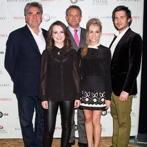 Downton Abbey cast hit New York to promote third series!