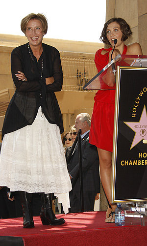 Emma Thompson honoured with a star on Hollywood Walk of Fame
