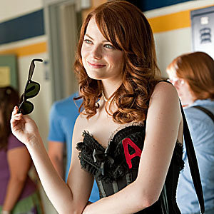 VIDEO: Watch exclusive clip of Emma Stone in new movie Easy A