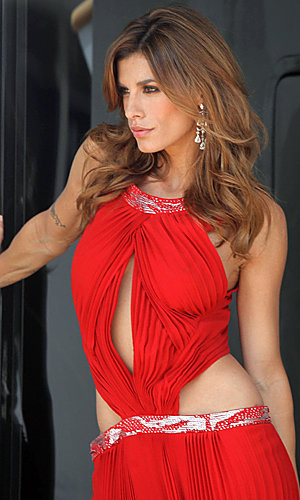 Elisabetta Canalis smoulders in Cannes photoshoot