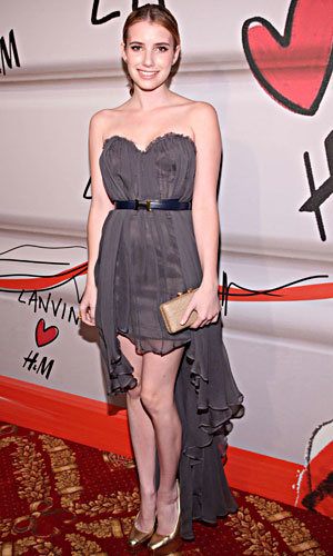 The stars love Lanvin for H&M