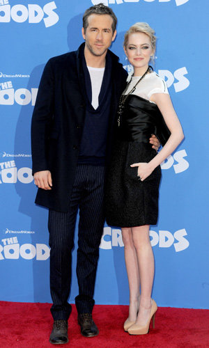 Blake Lively, Ryan Reynolds and Emma Stone hit The Croods premiere