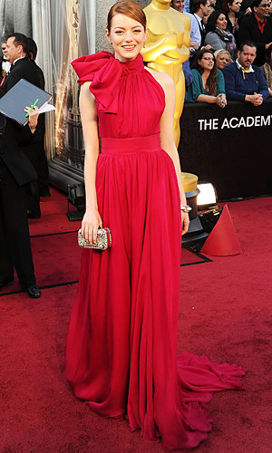 Oscars Dresses: Red carpet fashion trends - primary hues rule!